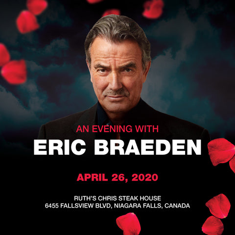 An Evening With Eric Braeden - April 26th, 2020 - General Admission