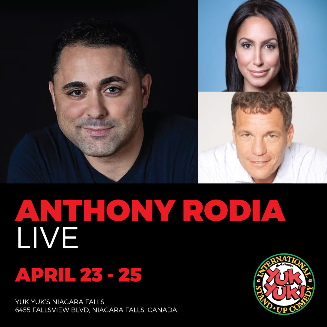 Anthony Rodia - Dinner & Show Package - April 23-25, 2020