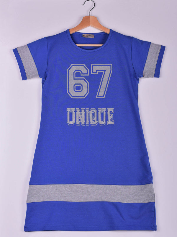 Dress, Royal Blue, 67 Unique