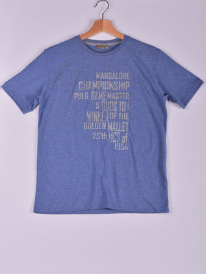 T-Shirt: Blue: Game Master