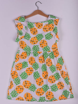 Dress: Pineapple Print