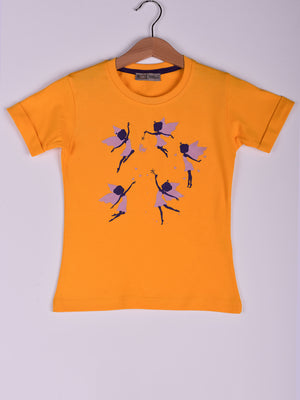 T-Shirt: Yellow: Fairies
