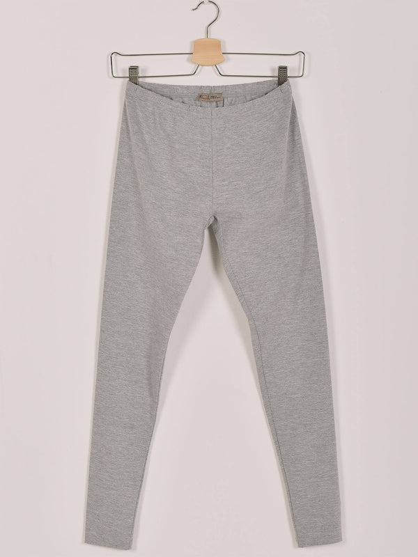 SOL Leggings: Grey Chine