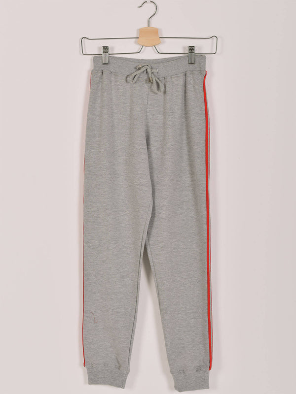 Sweatpants: Grey Chine: Shinny