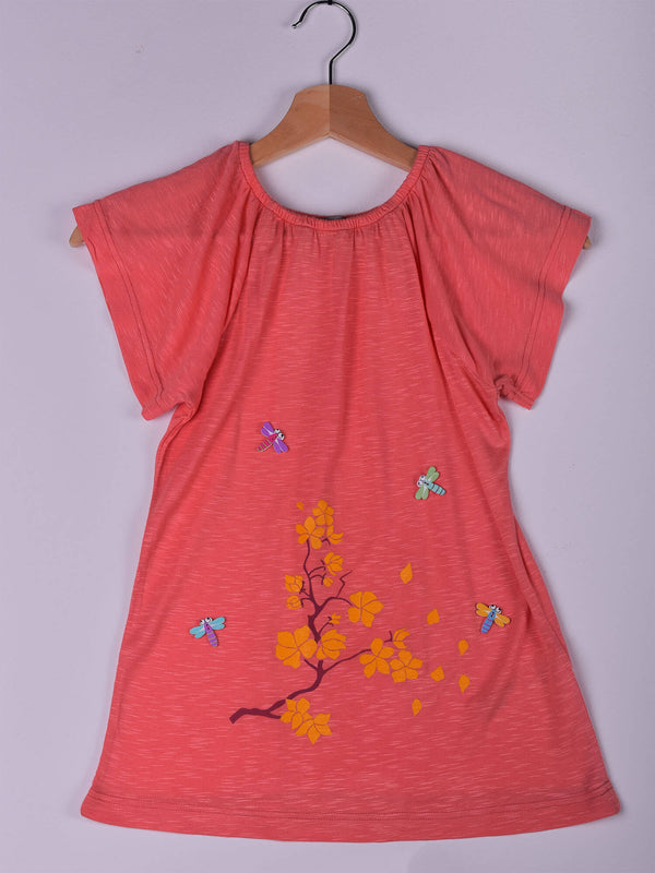 Top: Coral: Butterfly & Branch