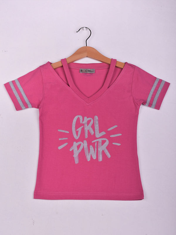 Top: Fuschia: GRL PWR