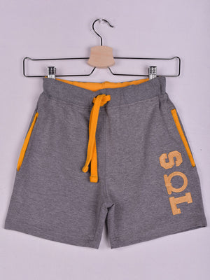 SOL Shorts: Grey Chine