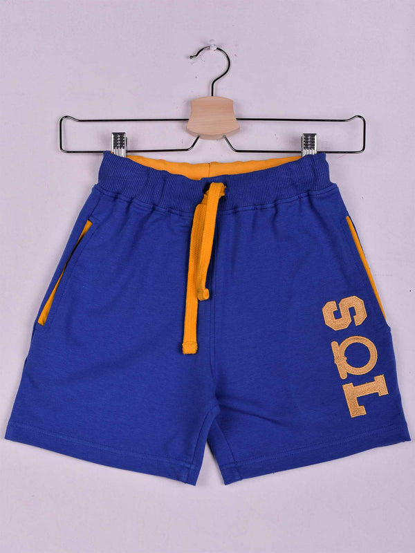 SOL Shorts: Royal Blue