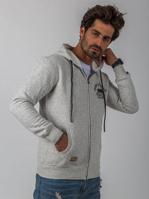 Athletics Hoodie With Zipper