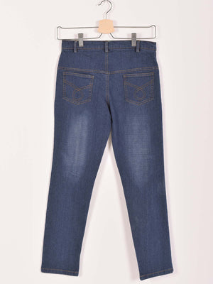 Denim Pants: Dark Blue