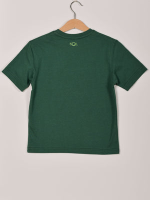 T-Shirt: Green: Route 66