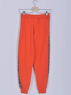 Sweatpants: Orange: Love
