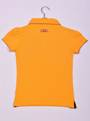 Polo: Yellow: Butterfly
