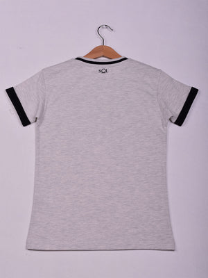 T-Shirt, Grey Chine,Youth