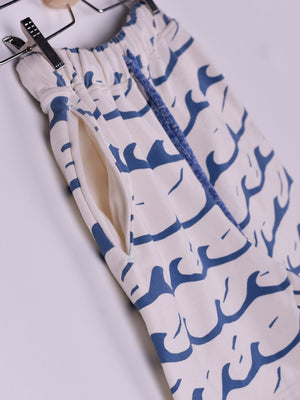 All Over Printed Shorts: Waves