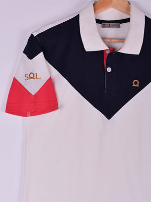SOL V Polo: Navy Blue