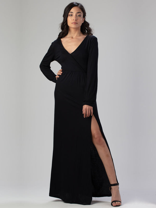 ESSENTIAL V Neck Dress