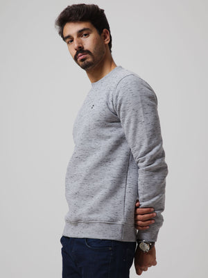 ESSENTIAL Round Neck Fleece Sweatshirt