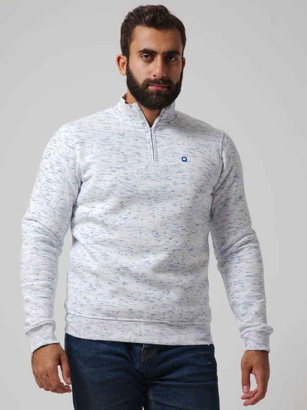 ESSENTIAL Fleece Sweatshirt with Zipper