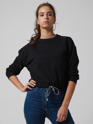 ESSENTIAL Crop Sweatshirt