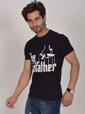 Printed T-Shirt: The Godfather (Black)