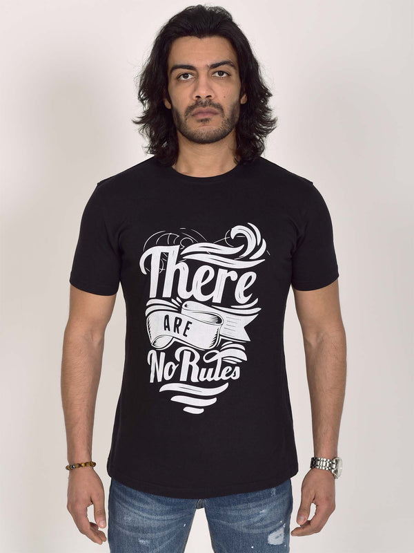 Printed T-Shirt: There Are No Rules