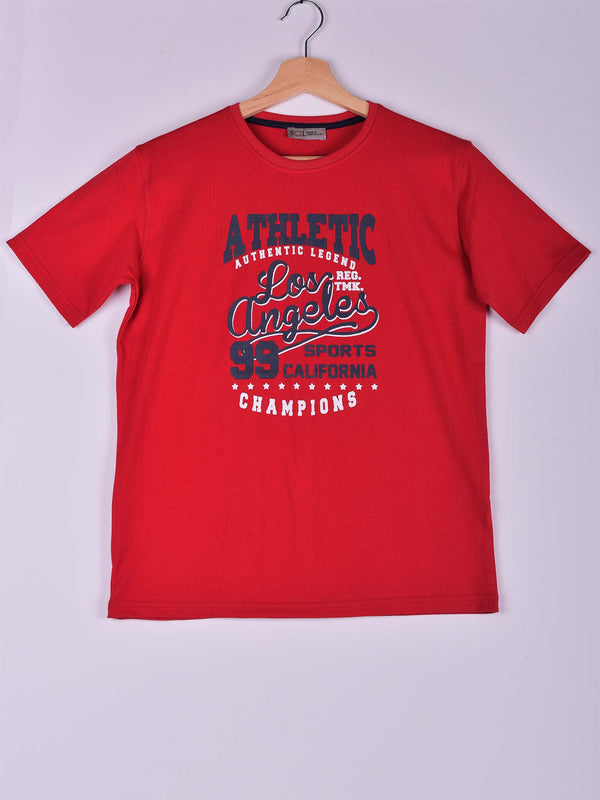 T-Shirt: Red: Los Angeles 99