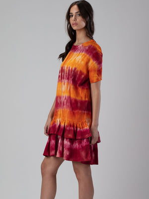 ANOUSHKA Tie & Dyed Dress
