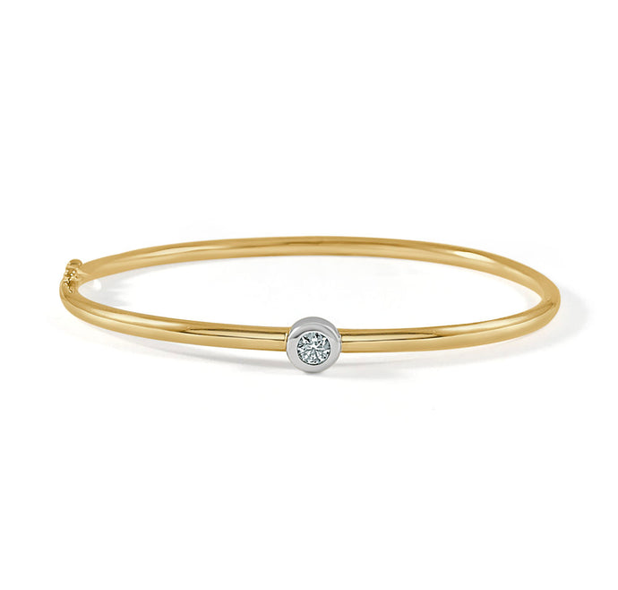 Sabrina Designs 14K Yellow Gold Diamond Bangle