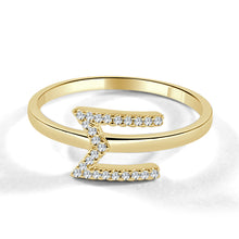 Load image into Gallery viewer, Sabrina Designs 14K Yellow Gold Diamond Initial Ring