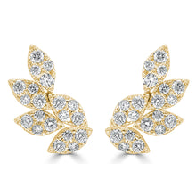 Load image into Gallery viewer, Sabrina Designs 18k Yellow Gold Diamond Cluster Ear Climbers