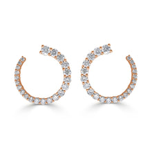 Load image into Gallery viewer, Sabrina Designs 18k Rose Gold Diamond Earrings