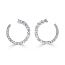 Load image into Gallery viewer, Sabrina Designs 18k White Gold Diamond Earrings
