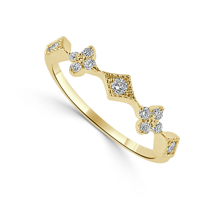Sabrina Designs 14k Yellow Gold Diamond Ring