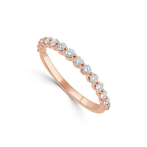 Sabrina Designs 14k Rose Gold Diamond Band