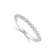 Load image into Gallery viewer, Sabrina Designs 14k White Gold Diamond Band