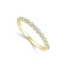 Load image into Gallery viewer, Sabrina Designs 14k Yellow Gold Diamond Band
