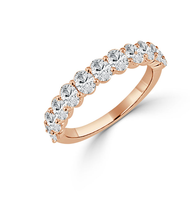 Sabrina Designs 14K Rose Gold Oval Cut Ring
