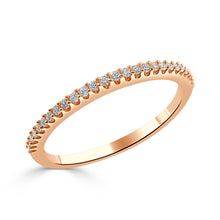 Load image into Gallery viewer, Sabrina Designs 14k Rose Gold Diamond Stackable Ring