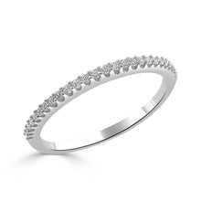 Load image into Gallery viewer, Sabrina Designs 14k White Gold Diamond Stackable Ring