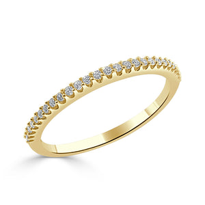Sabrina Designs 14k Yellow Gold Diamond Stackable Ring