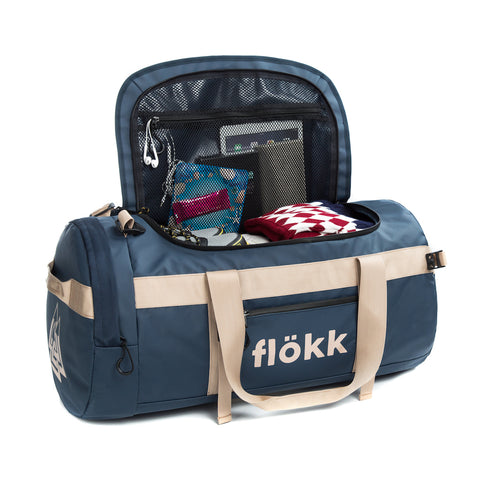 Blue Navy Duffel Bag 70L