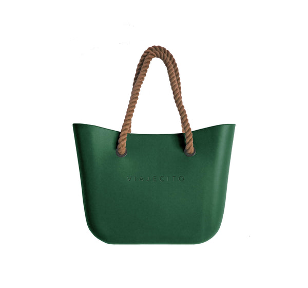 Forest Green Classic Tote