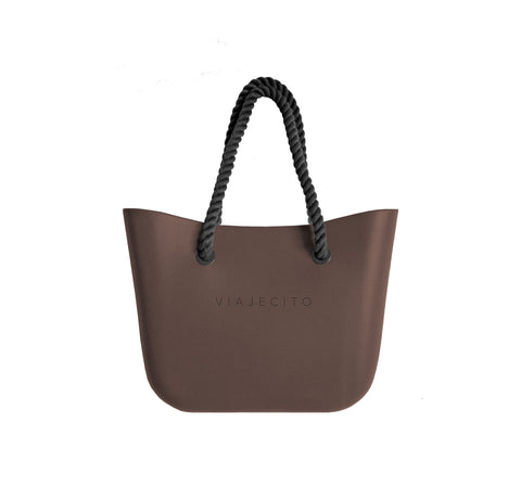 Chocolate Brown Classic Tote