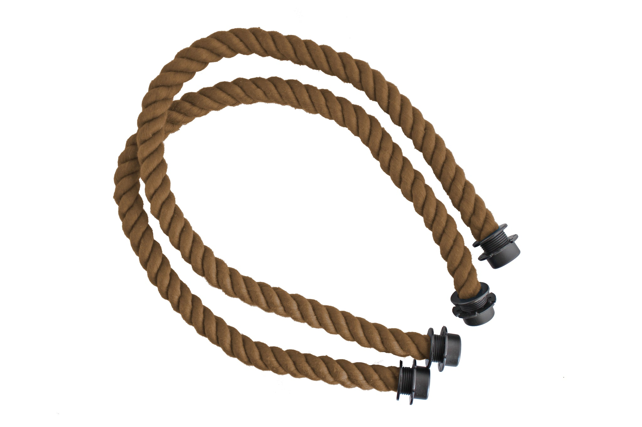 Chocolate Brown Rope Straps