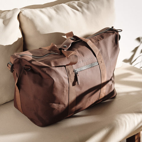 Cigar Brown Weekender Duffel