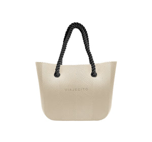 Merengue Herringbone Tote