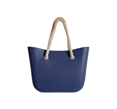 Navy Classic Tote