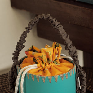Tropical Orange Splashbucket Lining