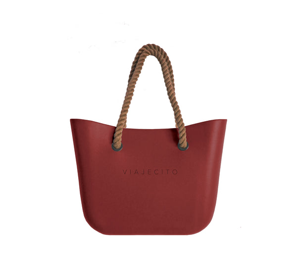 Wine Red Classic Tote
